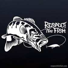 Largemouth Bass Window Sticker In White Professional Grade Outdoor Vinyl Decal Over 40 Fish Designs Available At Respectthef Fishing Decals Fish Bass Fishing