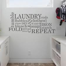 Laundry Wall Stickers Subway Laundry Room Decor Word Vinyl Wall Decal Bathroom Large Wall Sticker Living Room Waterproof C194 Wall Stickers Aliexpress