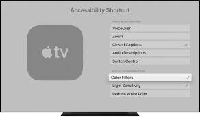 Use Display Accommodations on your Apple TV - Apple Support