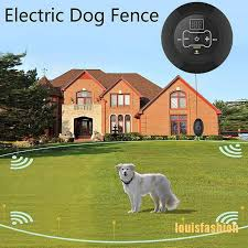 Lfph Wireless Electric Dog Fence Pet Containment System Shock Collars For 1 2 3 Dogs Lff Shopee Philippines