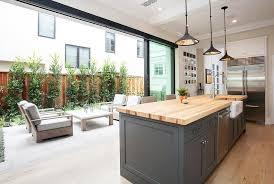 kitchen sliding glass patio doors