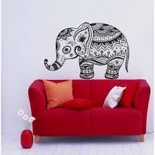 Shop Vintage Indian Elephant Vinyl Wall Decal Overstock 8441627