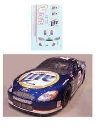 0 Mike Bliss Geek Squad Chevy 1 64th Ho Scale Slot Car Decals
