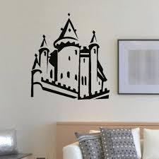 Shop Kids Castle Vinyl Wall Art Decal Sticker Overstock 10654538
