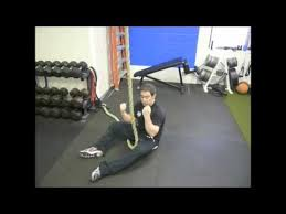 bodyweight exercise rope climbing w o
