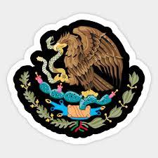 Mexican Eagle Mexican Eagle Sticker Teepublic Au