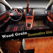 Diy Styling Furniture Table Decors Wrap Self Adhesive Auto Decoration Vinyl Sticker Decal Wood Grain Car Interior Film Wish