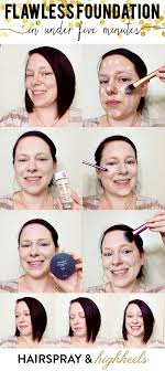 flawless foundation hairspray and