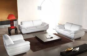 italian leather white sofa set he vcal