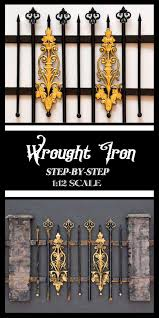Miniature Wrought Iron Fencing Thicketworks