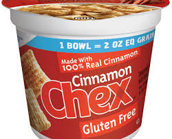 large bowl cinnamon chex