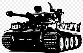 Tiger I Wall Decal Tank Sticker Png 800x527px Tiger I Armored Car Black And White Churchill
