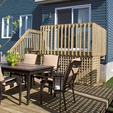 Bfd Rona Products Diy Build A One Level Deck