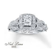 neil lane princess cut diamond bridal