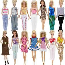 Bán Buôn Ngẫu Nhiên 1X Bộ Trang Phục Áo Quần Quần Áo Váy Đầm Hàng Ngày Giày Búp  Bê Quần Áo Cho Búp Bê Barbie Nhà Búp Bê Phụ Kiện Đồ Chơi 