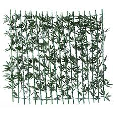 Mz186005 Bamboo Expandable Fence Decoration Buy Boxwood Hedge Mat Artificial Green Vine Leaves Wall Fence Screen Artificial Green Bouquet Product On Alibaba Com