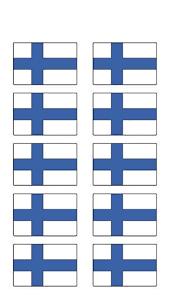 Scandinavianshoppe Com Finland Flag Decal 559