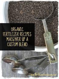 organic fertilizer recipes how to