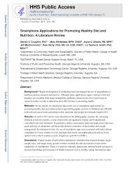 applications for promoting healthy t