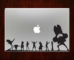 One Piece Luffy Decal Sticker Vinyl For Macbook Pro Air Macbook Decal Stickers Macbook Decal Macbook Stickers
