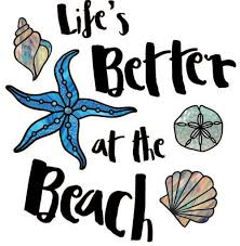 The Decal Store Com By Yadda Yadda Design Co Clr Wall Life S Better At The Beach Wall Quote Vinyl Decal C Yydc
