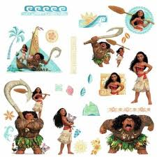 Disney Moana Maui Wall Decals 28 Peel
