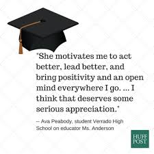 quotes from students and parents on teachers who changed their