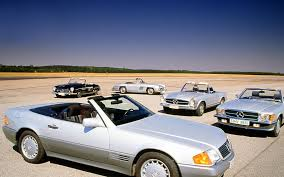 In pictures: the evolution of the iconic Mercedes-Benz SL | Autocar