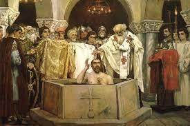 """Картинки по запросу """"картинка князь владимир крещение"""""""