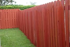 Painted Fences Red Painted Outdoor Wooden Fences Painted Fence Panel Ideas Painted Wood Fence Wooden Fence Fence Paint
