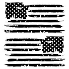 Tattered American Flag In 2020 American Flag Sticker American Flag Decal Flag Decal