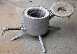 building a bronze casting furnace