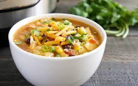 instant pot en tortilla soup