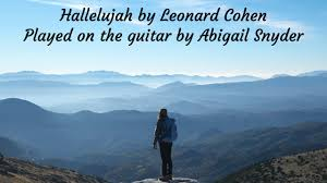 Hallelujah Solo Guitar Cover | Abigail Snyder Music - YouTube