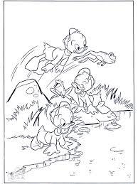 De Neefjes Als Kikker Donald Duck Kleurplaten