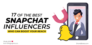 snapchat influencers who can boost