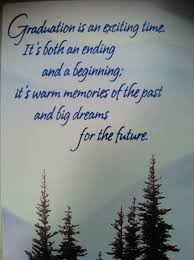high school graduation farewell quote quote number
