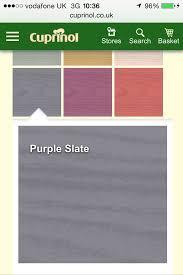 Cuprinol Garden Shades Purple Slate For The Fence Cuprinol Garden Shades Shade Garden Cuprinol