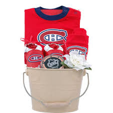 montreal canans nhl baby basket
