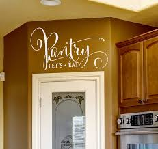 Pantry Decal Pantry Decal For Door