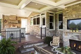 fireplaces for screened porches and