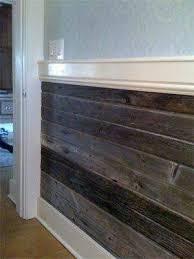 bottom half wall wood wainscoting