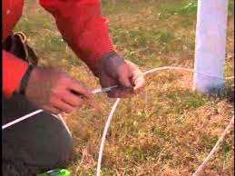 Splicing Techniques Crimping Sleeves Centaur Horse Fence Installation Video Youtube