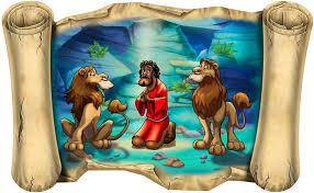 Biblical Daniel In Lion S Den Scroll Two Design Options Etsy