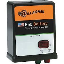 3 Pk Gallager 40 Acre 5 Mile Battery Solar Electric Fence Fencer Charger G351504 644493351500 Ebay