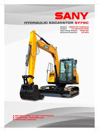 all sany catalogs and technical brochures