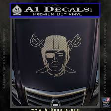 Oakland Raiders Decal Sticker D1 A1 Decals