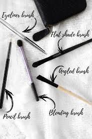eye makeup brushes and their uses for
