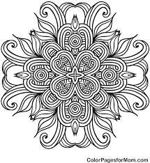 Mandala 41 Coloring Page Colorpagesformom Mandala
