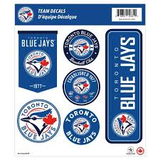 Toronto Blue Jays 12x14 Repositional Wall Decal Pack Mustang Wholesale